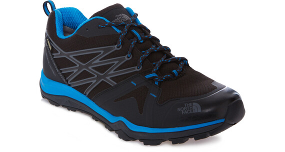 The North Face Hedgehog Fastpack Lite GTX Shoes Men phantom grey/blue aster